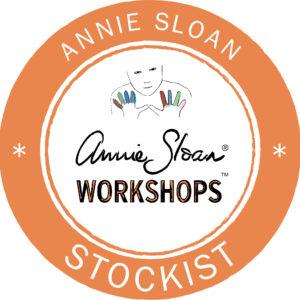 Annie Sloan - Stockist logos - Workshops - Barcelona Orange